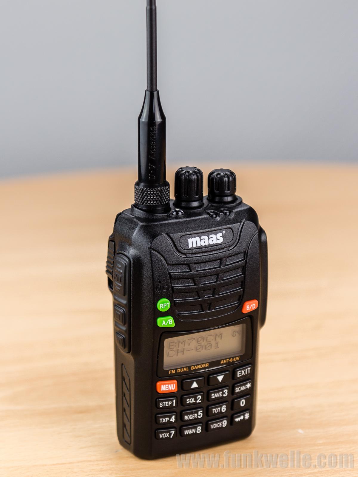 Maas AHT-6-UV / Wouxun KG-UV6D Handfunkgerät