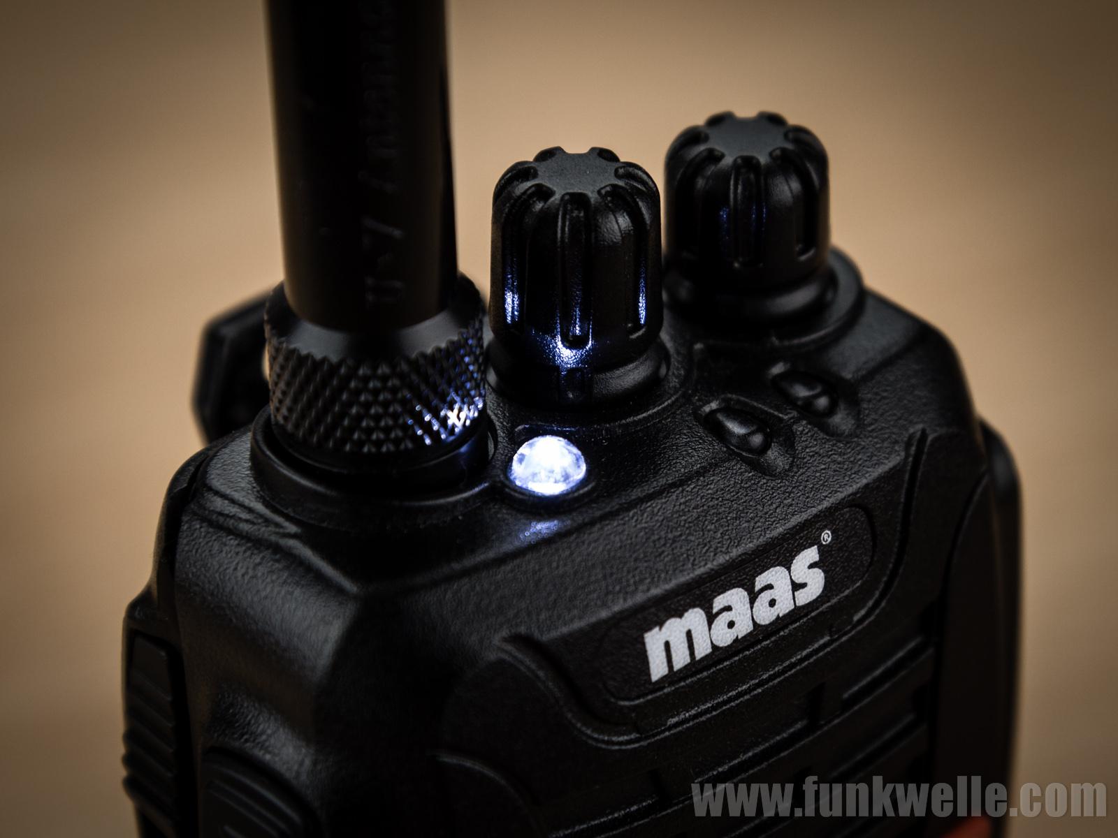 Maas AHT-6-UV / Wouxun KG-UV6D Taschenlampe