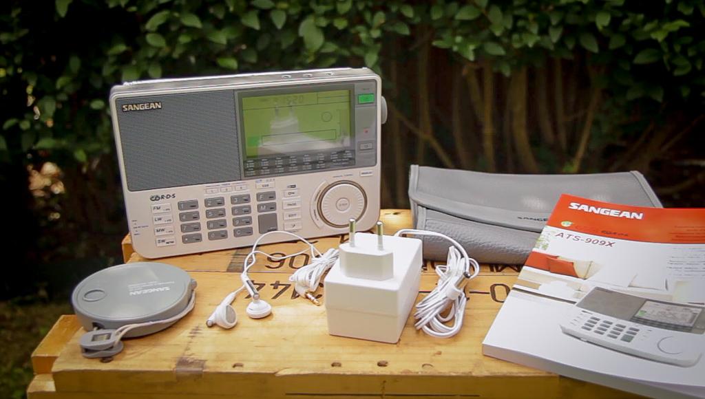 Screenshot Sangean ATS-909X