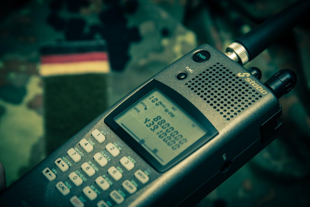 Polizeifunk abhören mit dem Funkscanner