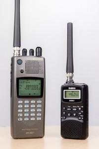 Zwei Funkscanner im Einsatz