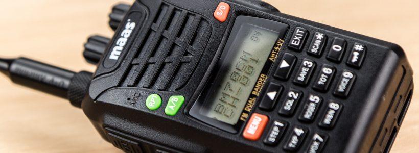 Maas AHT-6-UV / Wouxun KG-UV6D Handfunkgerät im Test