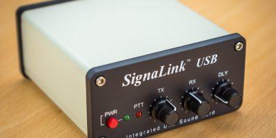 Digimodes mit Tigertronics SignaLink USB