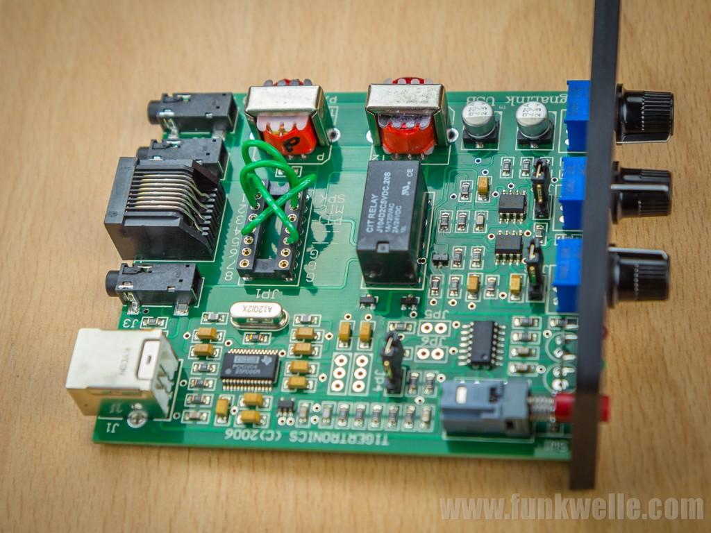 SignaLink USB offen
