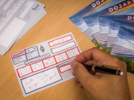 QSL Karte ausfüllen